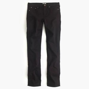 J.Crew Matchstick black jeans size 28